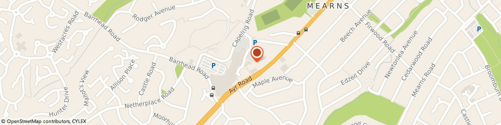 Route/map/directions to File Masters Limited, G77 9AU Glasgow, P.O.BOX 5567, NEWTON MEARNS