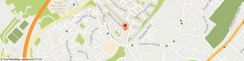 Route/map/directions to Neil Scott-Kiddie, G77 6SR Glasgow, 8 Kintyre Cres