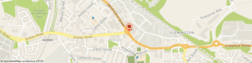 Route/map/directions to Alarm Expert Scotland, ML1 2FL Motherwell, 95 Heron View