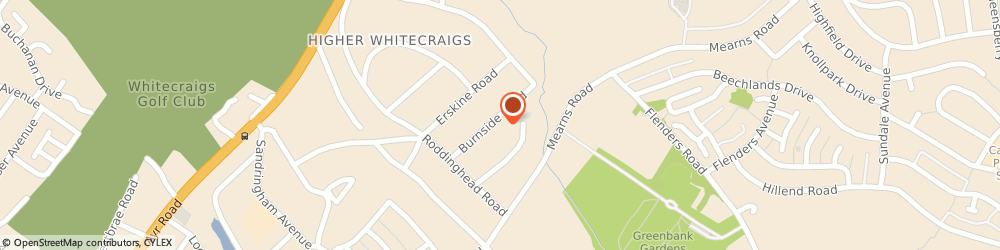 Route/map/directions to Boiler Service Glasgow, G46 6TT Glasgow, West Sussex Burnside Rd, Giffnock