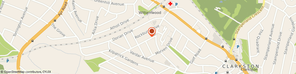 Route/map/directions to Paulines Hair and Beauty Salon, G76 7PF Clarkston, 6-8 Cathkin Dr