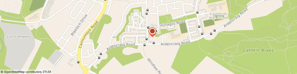 Route/map/directions to Tradesmen in Glasgow, G45 9WG Glasgow, 95a Birgidale Rd