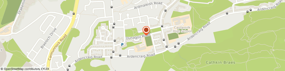 Route/map/directions to John Paul i i Primary School, G45 9UR Glasgow, 29 Dunagoil Rd