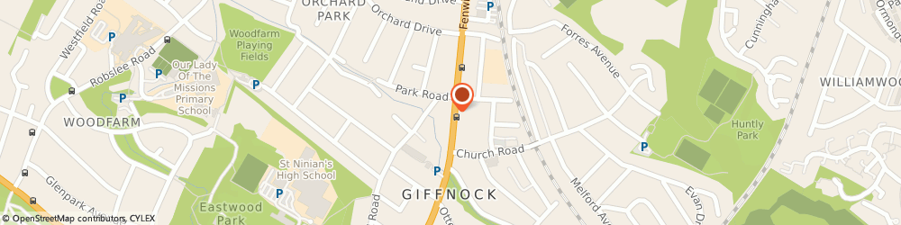 Route/map/directions to All Tied Up, G46 6UE Giffnock, 202 FENWICK ROAD