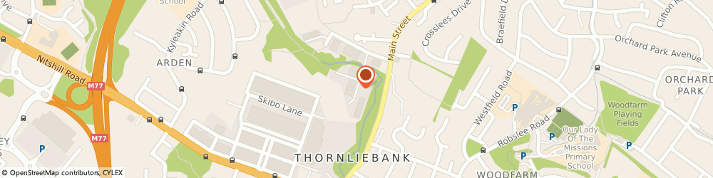 Route/map/directions to THE BUZZ AGENCY LIMITED, G46 8NG Thornliebank, Suite 25 Spiersbridge Way