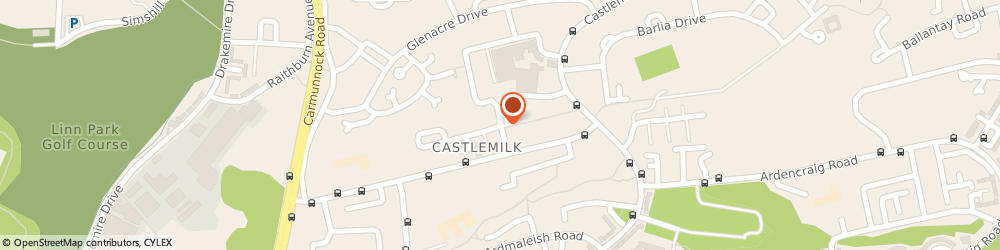 Route/map/directions to Castlemilk Group Practice, G45 9AW Glasgow, 71, Dougrie Drive