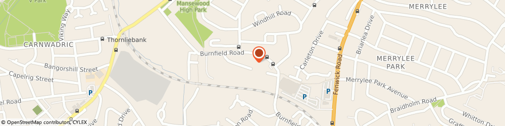 Route/map/directions to Eda Professional Services, G46 7TL Glasgow, Burnfield House, 4A Burnfield Avenue