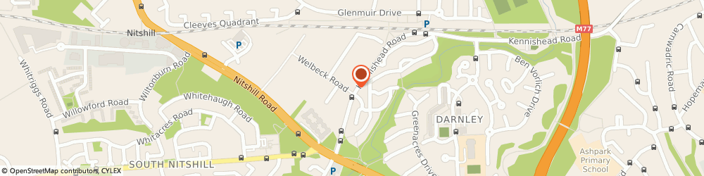 Route/map/directions to Shields Automotive Ltd, G53 7RA Glasgow, 900 KENNISHEAD ROAD