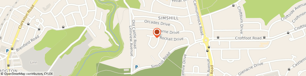 Route/map/directions to FPS GLASGOW LIMITED, G44 5EU Glasgow, 79 Rockall Drive