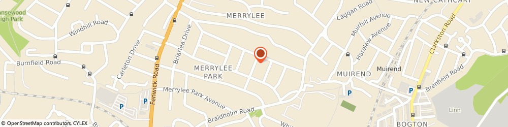 Route/map/directions to TW Communications, G46 6BS Giffnock, 5 Rowanlea Dr