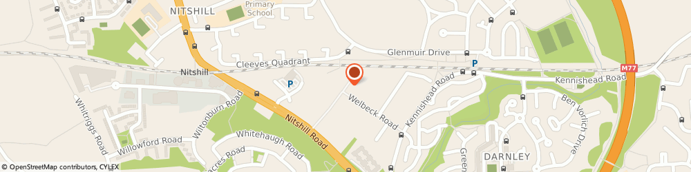 Route/map/directions to Big Day Events & Cater Hire, G53 7QS Glasgow, 41 Woodneuk Road