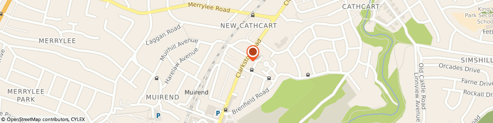 Route/map/directions to Creative Cakes, G44 3JG Glasgow, 379 Clarkston Rd