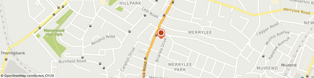 Route/map/directions to G.S. Plumbing, Heating & Gas, G46 6AU Giffnock, 7 Fenwick Rd