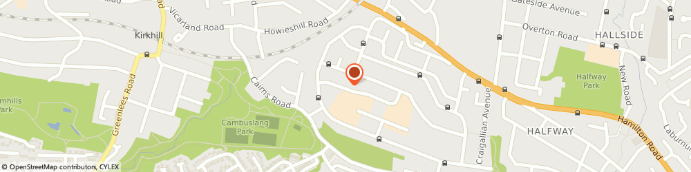 Route/map/directions to Fergie's Frolics, G72 8QP Glasgow, 27 Lilybank Ave