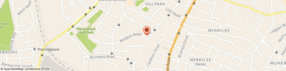 Route/map/directions to C.t.s, G43 2UP Glasgow, 15, WINDHILL CRESCENT