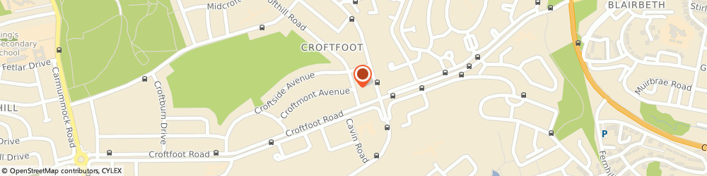 Route/map/directions to 2 b Let, G44 5NL Glasgow, 299, CROFTHILL ROAD