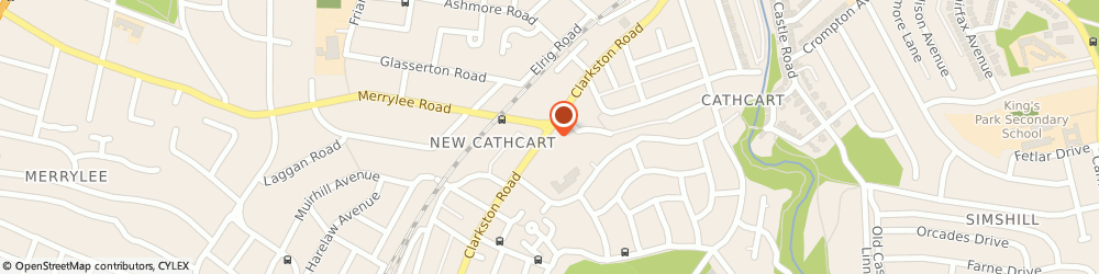 Route/map/directions to Physiologix Physiotherapy Centre, G44 3DS Glasgow, 237 Clarkston Rd