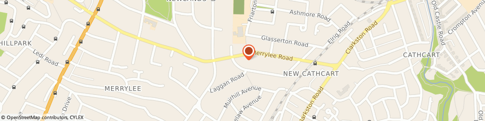 Route/map/directions to Church Of Scotland Glasgow Merrylea, G43 2QZ Glasgow, 78 Merrylee Road