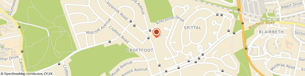 Route/map/directions to Croft Licensed Grocers, G44 5LX Glasgow, 497-499 CASTLEMILK ROAD