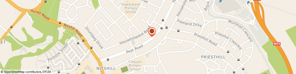 Route/map/directions to Cas Citizens Advice Scotland Glasgow, G53 6SA Glasgow, 250 PEAT ROAD