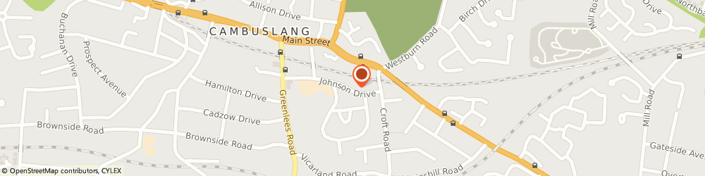 Route/map/directions to Sutherland Chauffeur Drive, G72 8JP Glasgow, 6 Johnson Drive