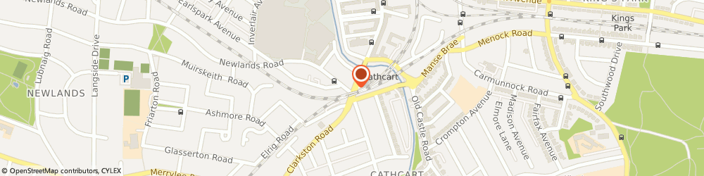 Route/map/directions to Clydesdale Bank PLC, G44 4EH Glasgow, 32 CLARKSTON ROAD