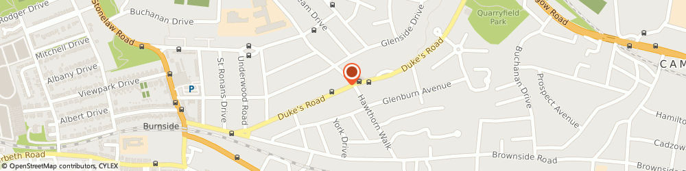Route/map/directions to The Fruit Basket, G73 5AF Glasgow, 130 Dukes Road