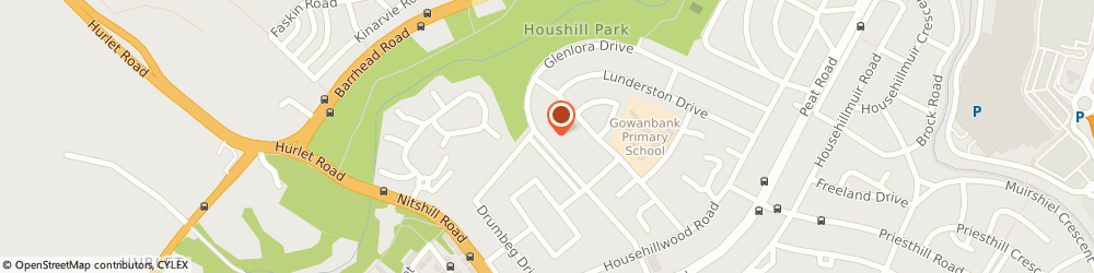 Route/map/directions to Glasgow Arborists - Tree Care, G53 6JS Glasgow, 201 Glenlora Dr