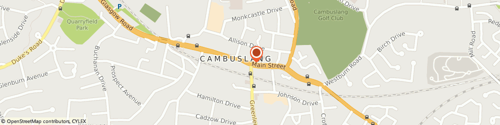Route/map/directions to Cambuslang Library, G72 7EX Cambuslang, 27 Main St