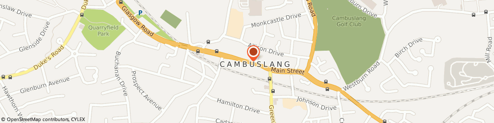 Route/map/directions to Post Office Limited, G72 7EL Cambuslang, 153 Main Street