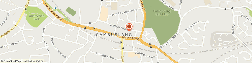 Route/map/directions to Post Office Limited, G72 7SY Cambuslang, Unit 2 Cambuslang Gate