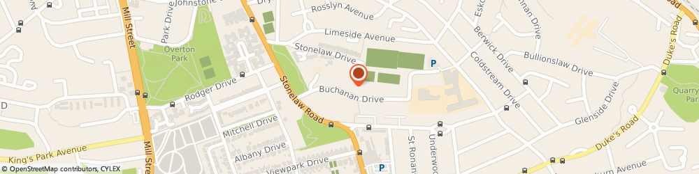 Route/map/directions to Templeton House, G73 3PF Glasgow, 33 Buchanan Drive