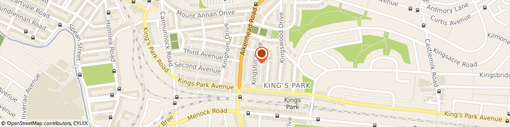 Route/map/directions to Ian Kay Driving School, G44 4QY Glasgow, 23 Kingshill Drive