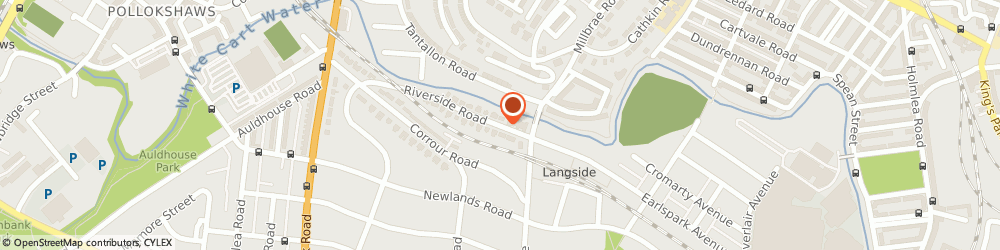 Route/map/directions to Re Decorate, G43 2EG Glasgow, 31 Riverside Rd