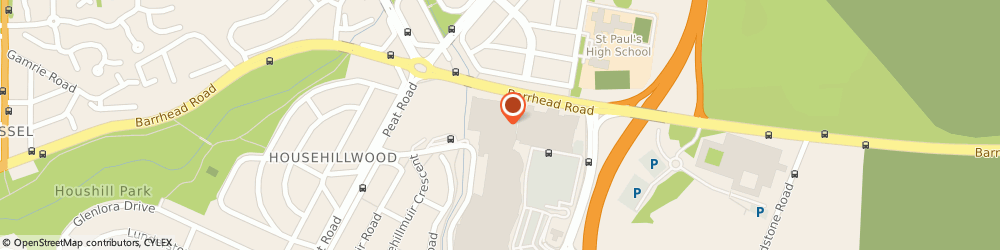 Route/map/directions to PURE Spa Silverburn, G53 6AG Glasgow, 1st Floor, Silverburn