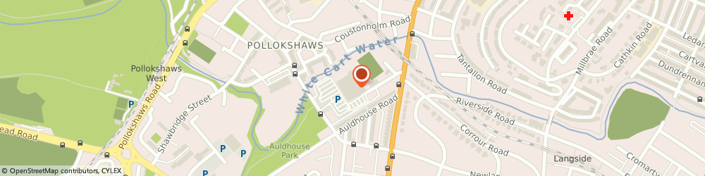 Route/map/directions to Specsavers Opticians and Audiologists - Newlands, G43 1PU Glasgow, Morrisons Supermarket