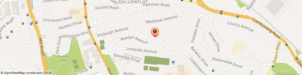 Route/map/directions to Tmt Total Management Training, G73 3HE Glasgow, 58 Calderwood Road