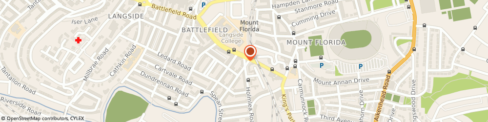 Route/map/directions to m b m Home Lets, G44 4AH Glasgow, 12 Holmlea Road