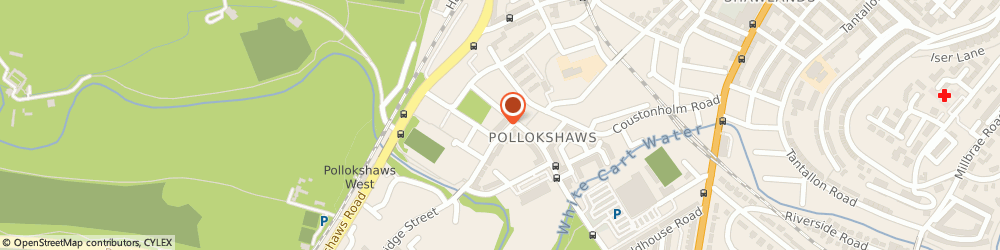 Route/map/directions to Pollokshaw Library & Learning Centre, G43 1RW Glasgow, 50-60 Shawbridge St