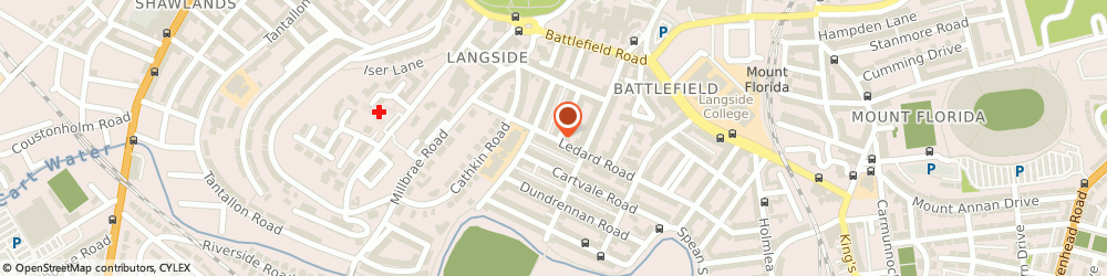 Route/map/directions to Layden Window Cleaning, G42 9SX Glasgow, 86 Ledard Road