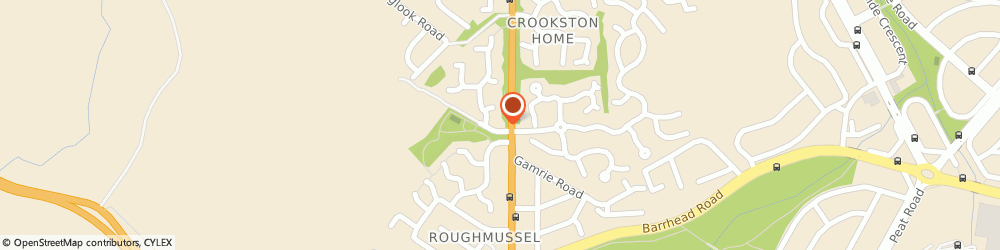 Route/map/directions to MMR (CONSTRUCTION MANAGEMENT) LTD, G53 7HF Glasgow, 4 Raeswood Gate