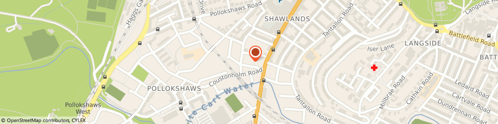 Route/map/directions to A Fitchett & Partners, G41 3PT Glasgow, 1 Grantley Street