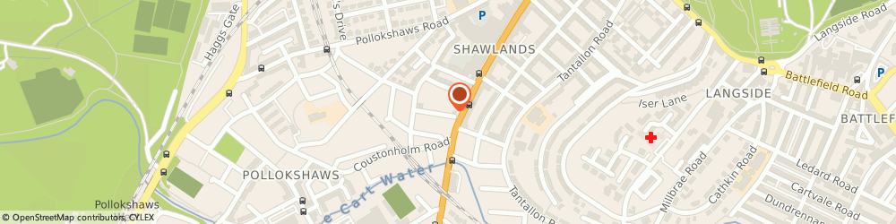 Route/map/directions to R & R.s Mearns, G41 3PR Glasgow, 2 Carment Dr