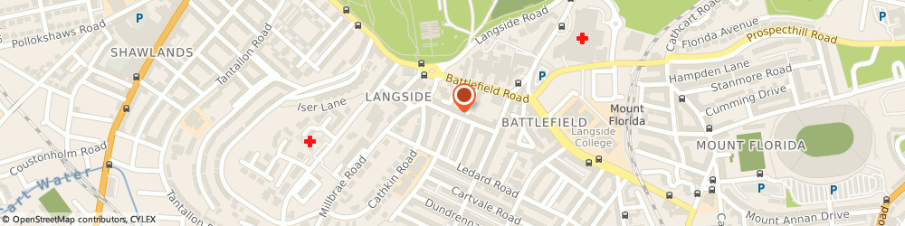 Route/map/directions to Kelso Design, G42 9PZ Glasgow, 9, OVERDALE STREET