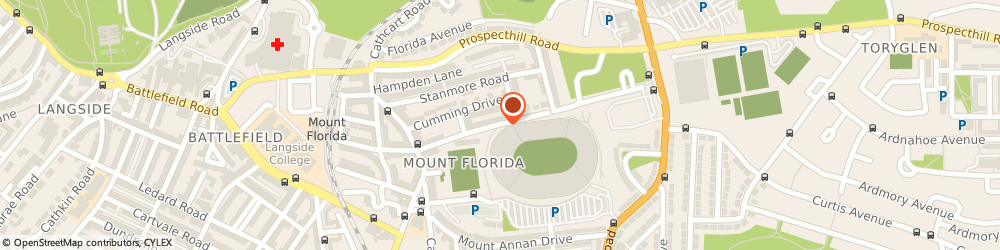 Route/map/directions to Ms Pauline Brown - Psychotherapist, G42 9BJ Glasgow, 93 Somerville Drive