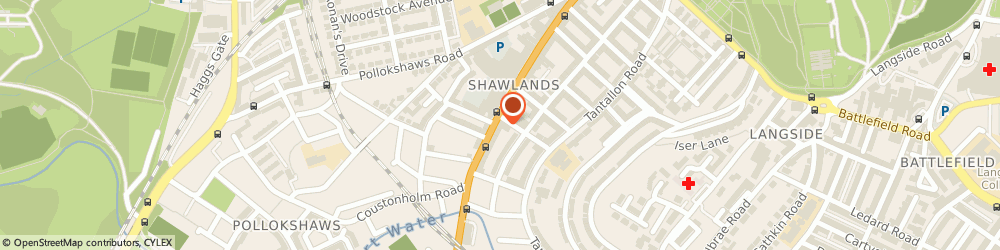 Route/map/directions to Mail Boxes Etc. Glasgow Shawlands, G41 3JA Glasgow, 145 Kilmarnock Rd