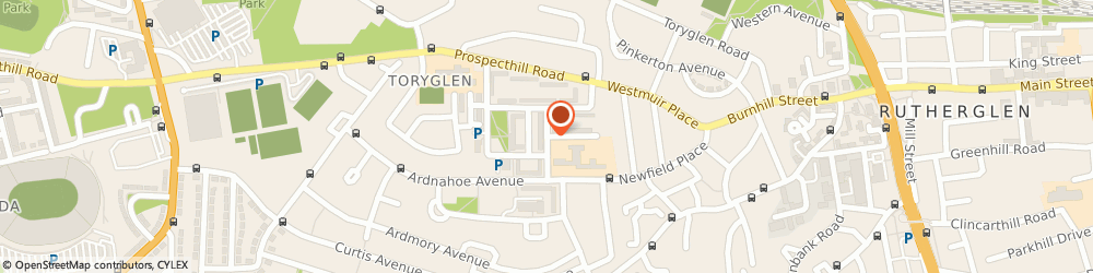 Route/map/directions to Toryglen Primary School, G42 0ER Glasgow, 17 Drumreoch Pl