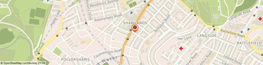 Route/map/directions to Newlands Roofing, G41 3JA Glasgow, 145 Kilmarnock Road