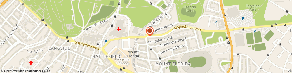 Route/map/directions to Furniture Diamond, G42 9BD Glasgow, 1121 Cathcart Rd, Mount Florida