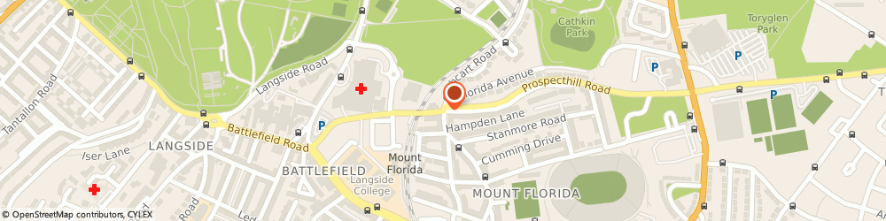 Route/map/directions to Drm Instructor Training College, G42 9XJ Glasgow, 991, CATHCART ROAD